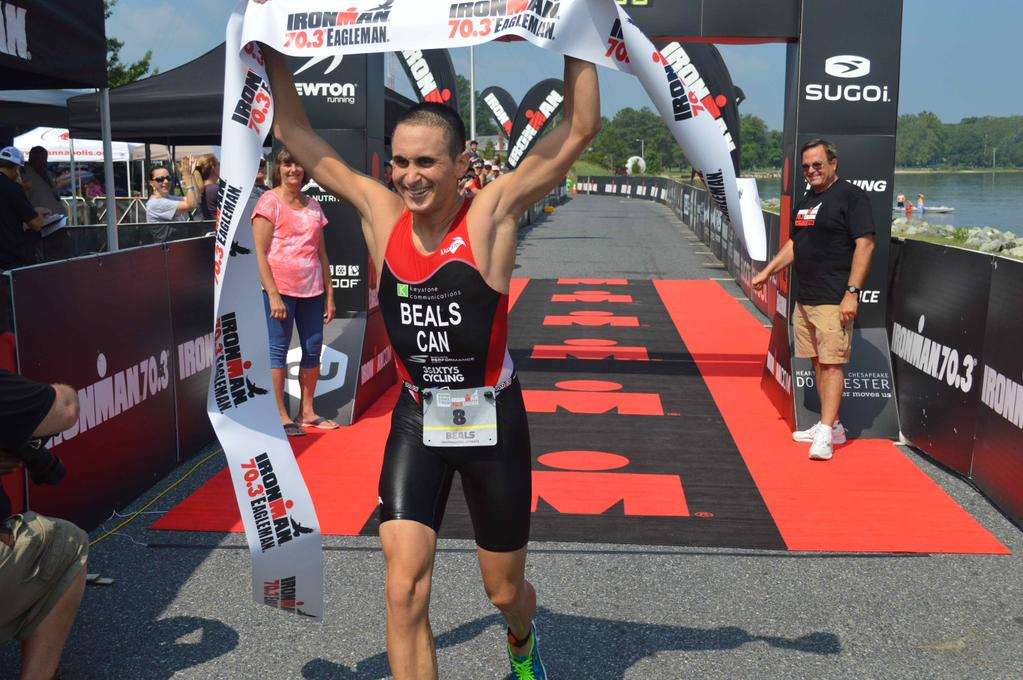 Eagleman 70.3 win 3 (Chris Knauss)