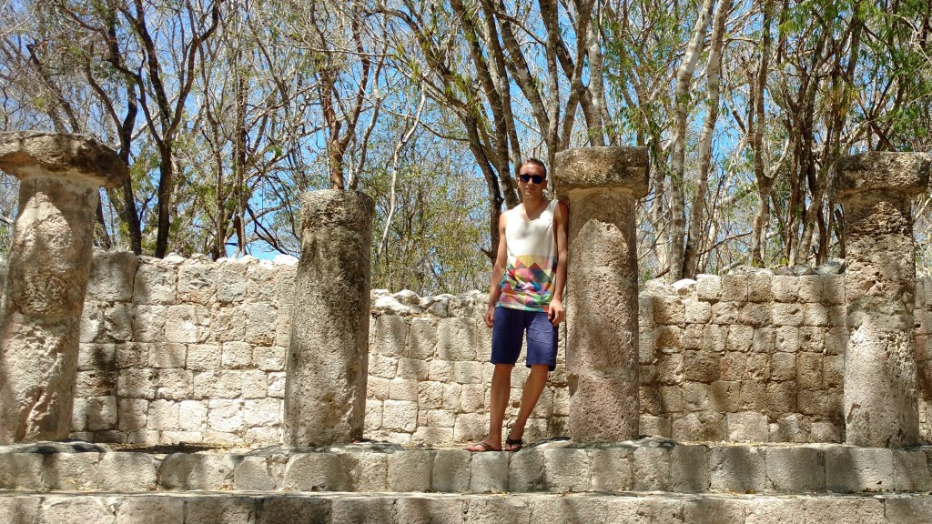 Edzna ruins