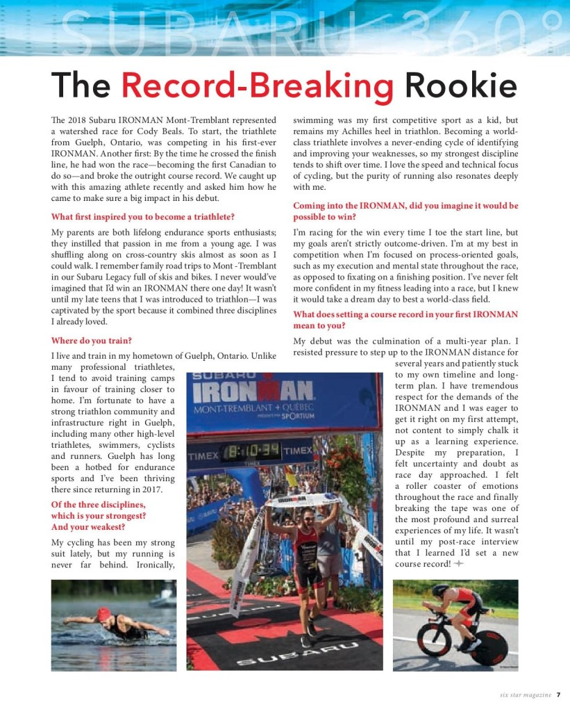 Subaru Record Breaking Rookie _ SS Fall 2018 _ Beals